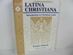 Memoria Press-Latina Christiana, Book I- Used Latin