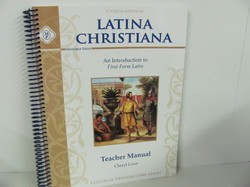 Memoria Press Latina Christiana Used Latin, Teacher