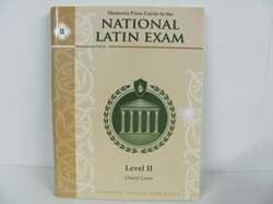 Memoria Press National Latin Exam Used Latin
