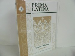 Memoria Press Prima Latina Used Latin, Teacher Manual