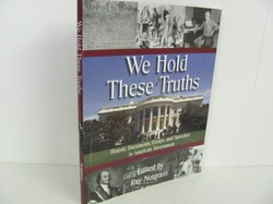 Notgrass-We Hold These Truths- Used American Gov't