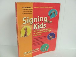 Perigee Books Signing for Kids Used Sign Language