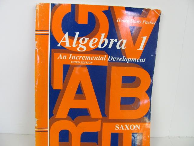 Order saxon algebra 1 tests and answer key third edition, isbn.