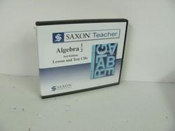 Saxon Algebra 1/2 Used CD ROM