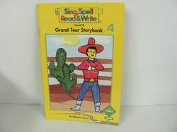 Sing Spell-Grand Tour Storybook (Reading-to-Learn, Book 4)- Used Early Learning