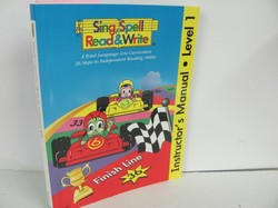 Sing Spell Read and Write Teacher Manual Used Early Learning