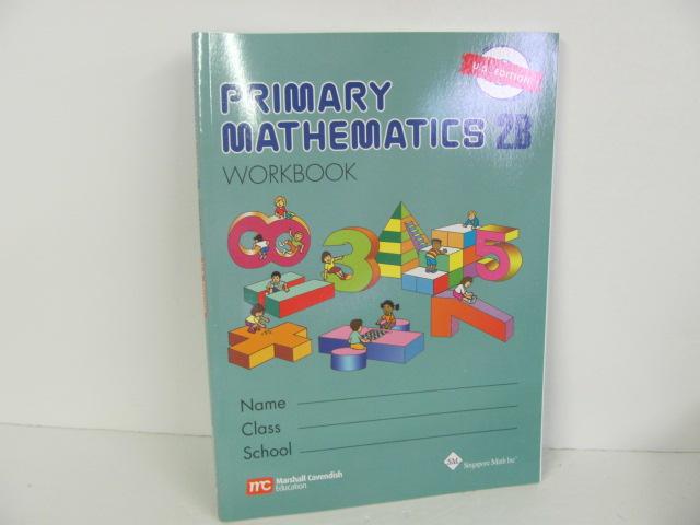 Singapore-Primary Mathematics 2B Workbook U.S. Edition - Used 2nd ...