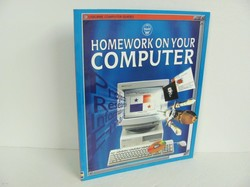 Usborne-Homework on Your Computer- Used Computer