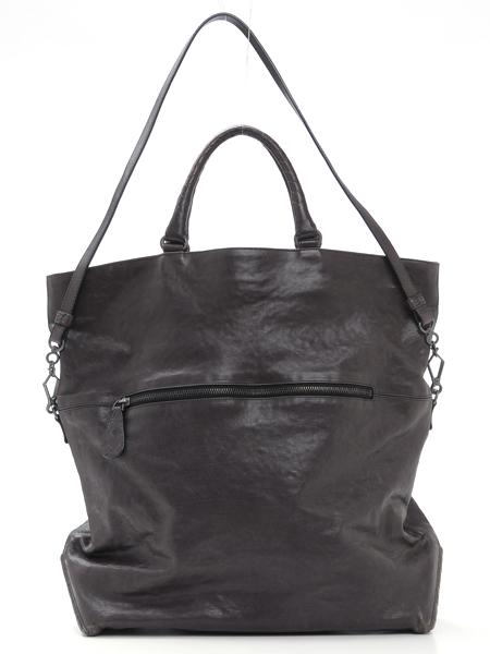 425d881479 BOTTEGA-VENETA-Brown-Leather-Foldover-Tote-BAG-Large 1249F.
