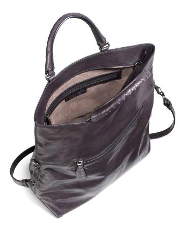 8b391c19f8 BOTTEGA-VENETA-Brown-Leather-Foldover-Tote-BAG-Large 1249N.