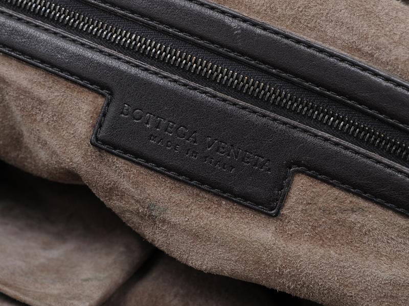 afa9eb79f4 BOTTEGA-VENETA-Brown-Leather-Foldover-Tote-BAG-Large 1249S.