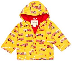 Hatley Infant Raincoat, Fire Trucks | Kid Friendly Footwear