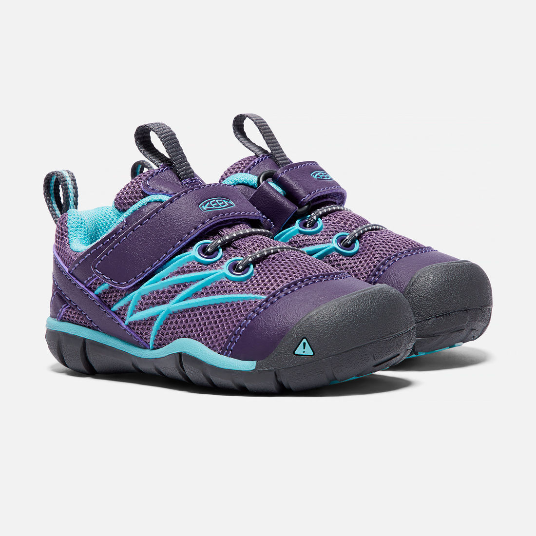 55d64657147 KEEN Chandler CNX, Montana Grape/Aqua Haze (4-7) | Kid Friendly Footwear