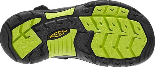 a9c5b711588 KEEN Newport H2, Black/Lime Green (8-13) | Kid Friendly Footwear