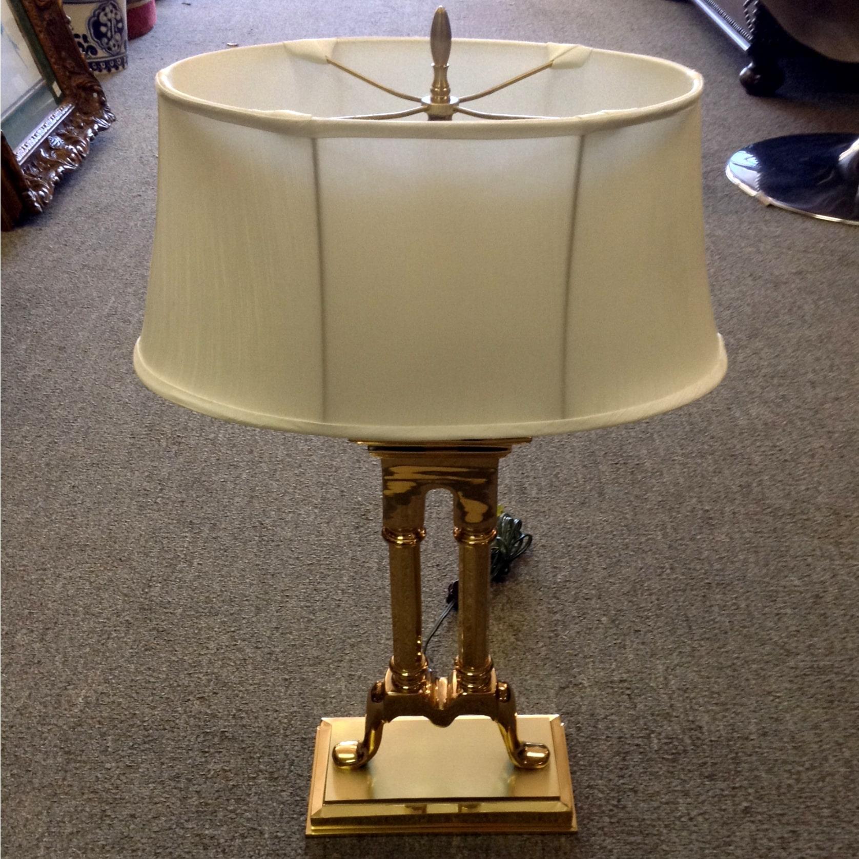 Brass Table Lamp Alabama Furniture