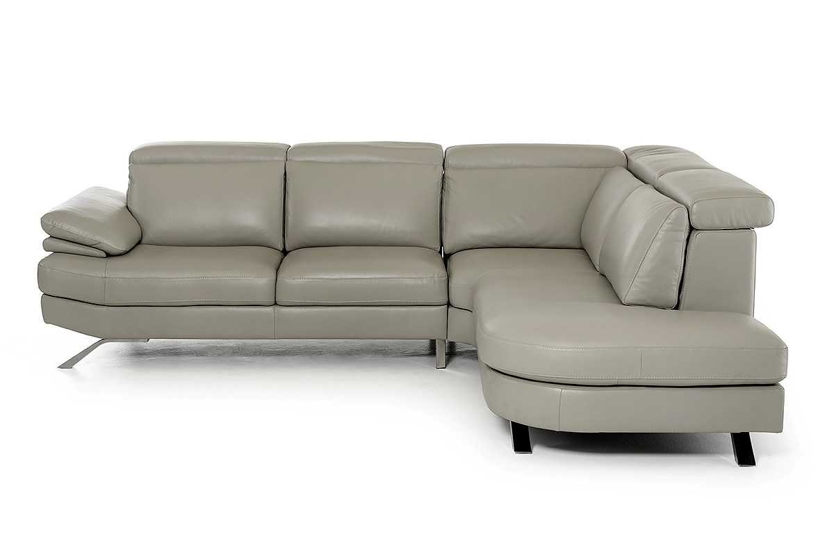 modern los italian contemporary sectional furniture leather angeles