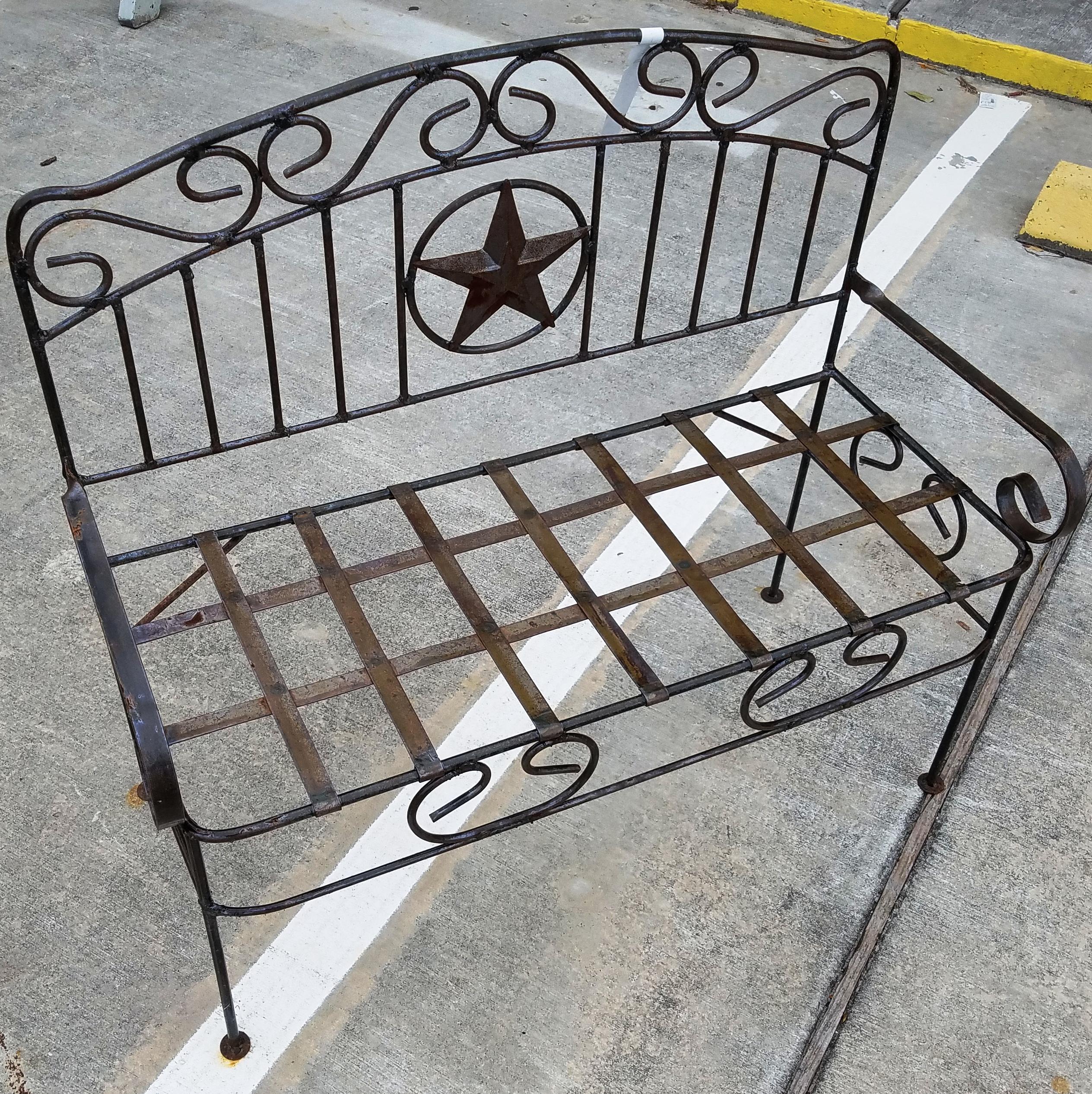 Texas Star Bench Alabama Furniture