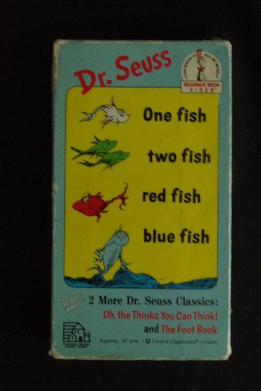 Lyric dr seuss red fish blue fish lyrics dr seuss red for Fishpond books