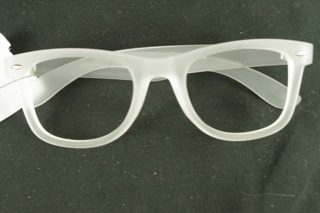 Play Nerdy hipster Sunglass Frames White Thick Opaque without lense ...