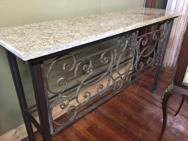 19th century french balcony consol south front antiques for Balcony console