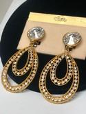 1980s--Chantelle-Rhinestone-Gold-tone-Dangle-Earrings-on-Card_31855B.jpg