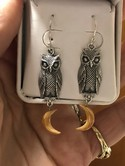 Beautiful-Sterling-Silver-OWL-w-Dangle-Crescent-Moon-Ear-Wire-Earrings_36437E.jpg