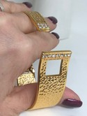 KJL-Hammered-Goldtone-Rhinestone-Hinged-Bangle-Buckle-Bracelet-wpouch_34538F.jpg