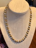 Milor-Italy-Diamond-Cut-Sterling-Silver-Two-Tone-San-Marco-Macaroni-Necklace_37992A.jpg