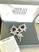 Nolan-Miller-Silvertone-Clear--Amethyst-Rhinestone-FLOWER-Pin_29969A.jpg
