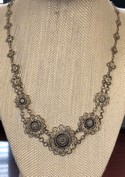 Unusual-Turkish-Silver-Filigree-Inlaid-Ebony-Floral-Link-Necklace_34831A.jpg