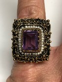 Vintage-14k-Yellow-Gold-Hand-Made-Natural-Amethyst-Seed-Pearl-Ring-Sz-6_36442D.jpg