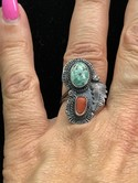 Vintage-Native-American-Sterling-Silver-Turquoise--Coral-Ring-Sz-8.5_36021D.jpg