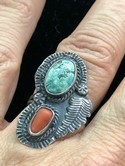 Vintage-Native-American-Sterling-Silver-Turquoise--Coral-Ring-Sz-8.5_36021E.jpg
