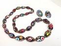 Vintage-Venetian-Murano-Millefiori-Art-Glass-Bead-Necklace---Earrings-SET_32759A.jpg