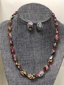 Vintage-Venetian-Murano-Millefiori-Art-Glass-Bead-Necklace---Earrings-SET_32759C.jpg