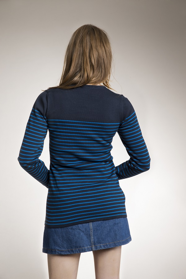 Boob Knitted Maternity Nursing Striped Jumper Bellies In