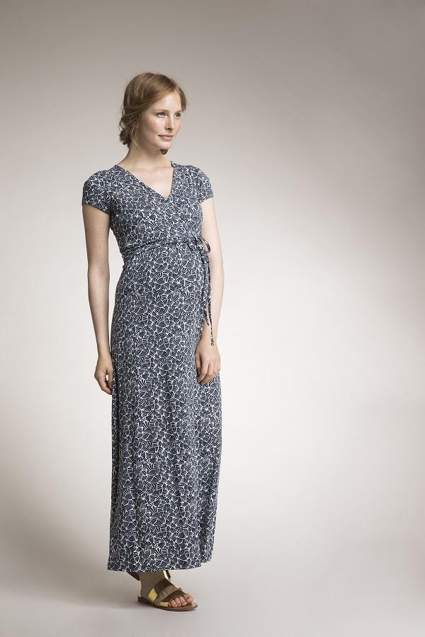 boob Maternity & Nursing Maxi Wrap Dress | Bellies in Bloom Maternity