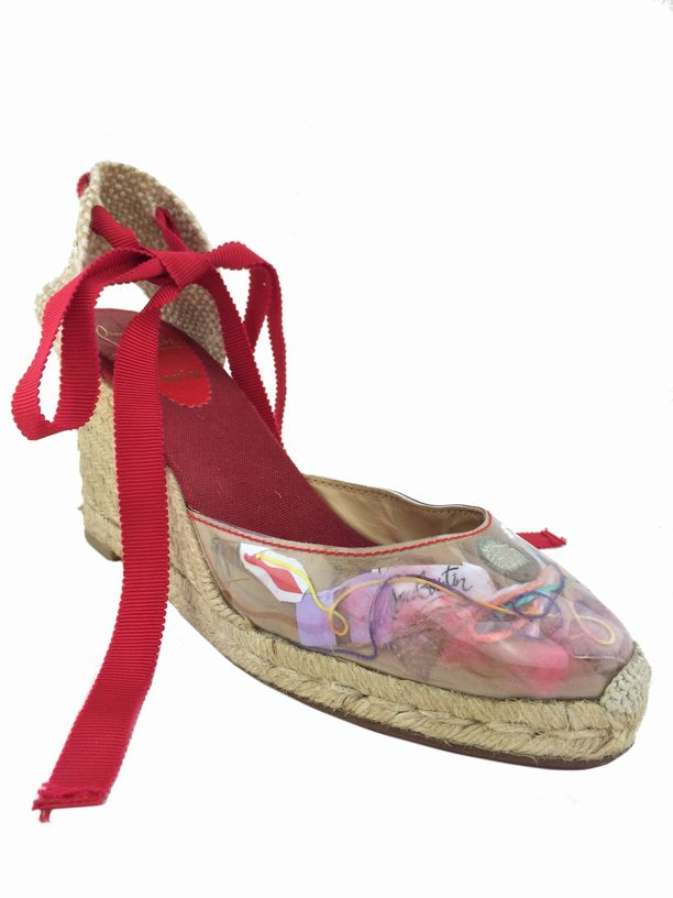 christian louboutin round-toe espadrille wedges | cosmetics ...