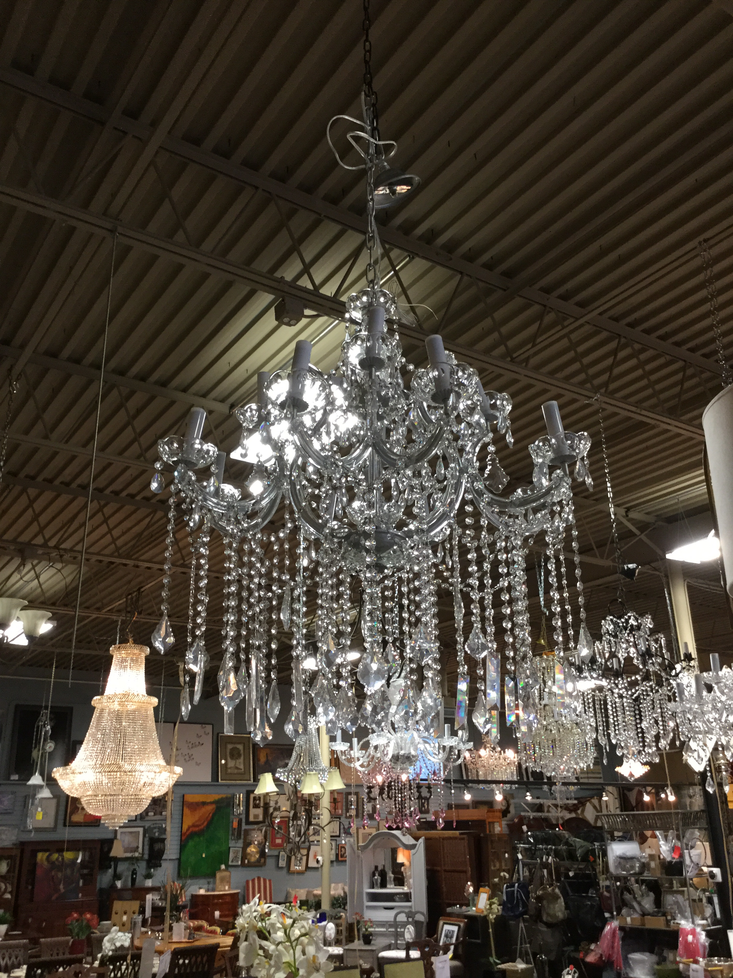 13 Light Marie Antoinette Crystal Chandelier_92303A ...