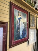 Framed and Numbered 34 X 43 of Scarlett O'hara