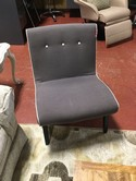 Moes Home Collection Gray & Beige Accent Chair