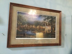 "Otto""s Landing Signed and Numbered Art by Terry Redlin"