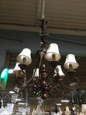 Traditional 6 Arm Chandelier