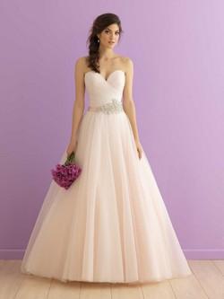 Allure 2904 in blush Immaculate Salon Sample