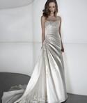 Demetrios, Style #4302 in Platinum