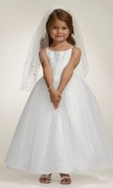 Flower Girl Dress from Davids Bridals Style F5407