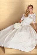 Paloma Blanca 4667 3 Piece Gown, Salon Sample