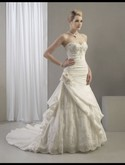 Venus VE8064, NEW gown with tags, white