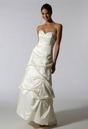Jessica McClintock White Gown...