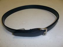 "Navy Velcro Latch Belt ""click for length"""